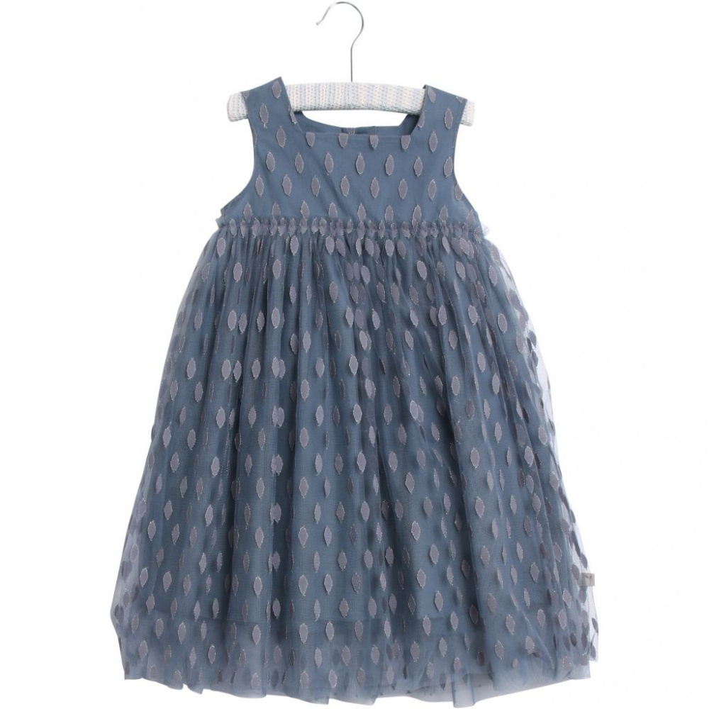 Camilla kjole med blomstermønster | 7233928 | Blå | Cubus