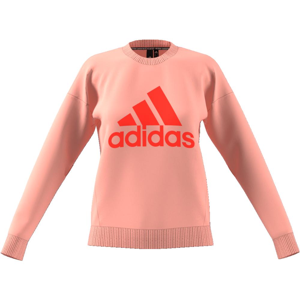Blå Adidas JB MH Crew Genser Familiebutikken.no
