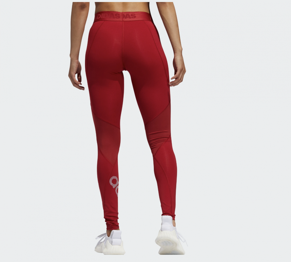 Rød Adidas Ask L BOS Tights Familiebutikken.no