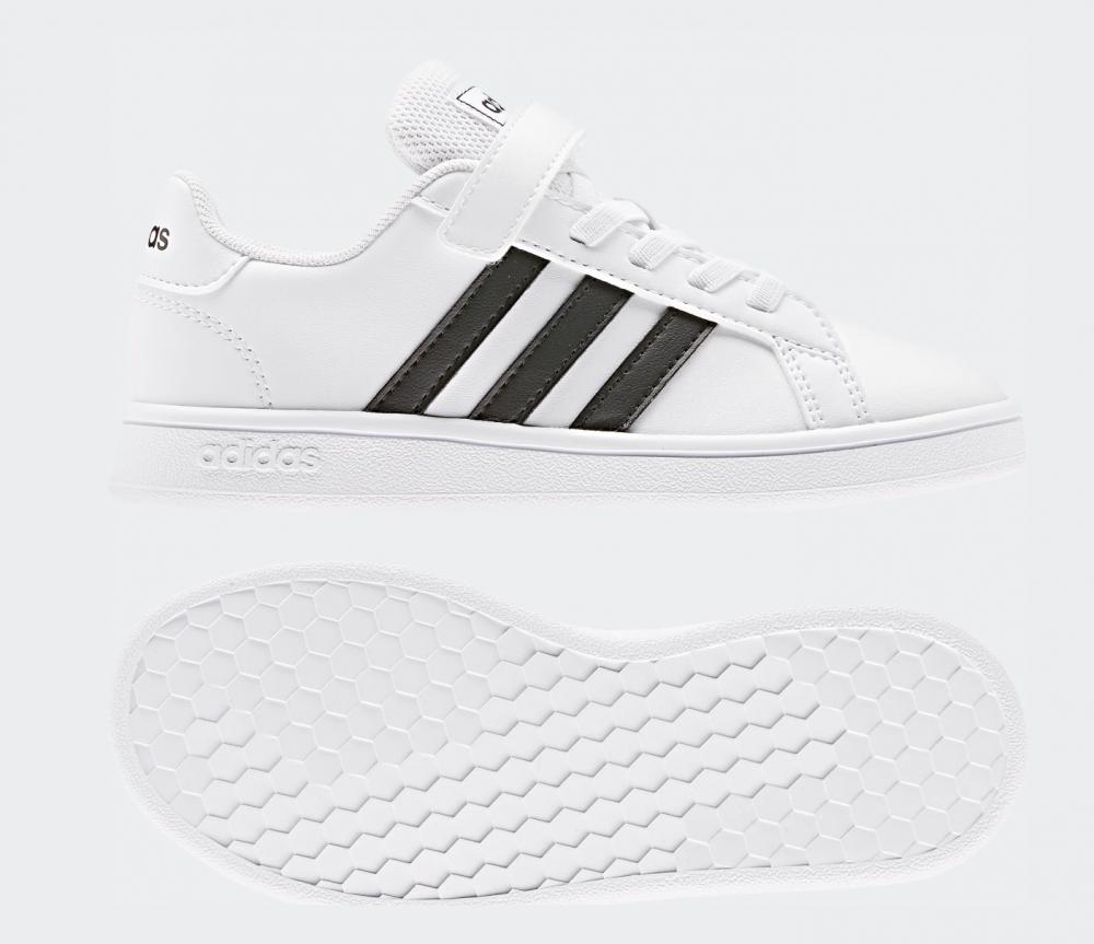 Hvit Adidas Runfalcon Sko Familiebutikken.no