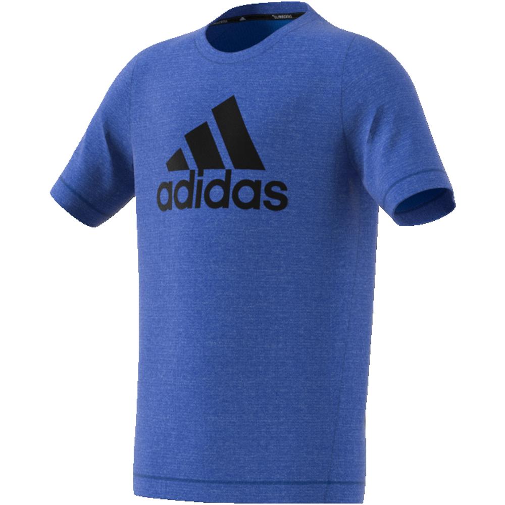 Mørk Blå Adidas YB TR Chill Tee Tskjorte Familiebutikken.no