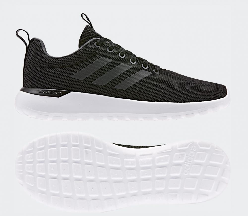 Sort Adidas Lite Racer CLN Sneakers Sko Familiebutikken.no
