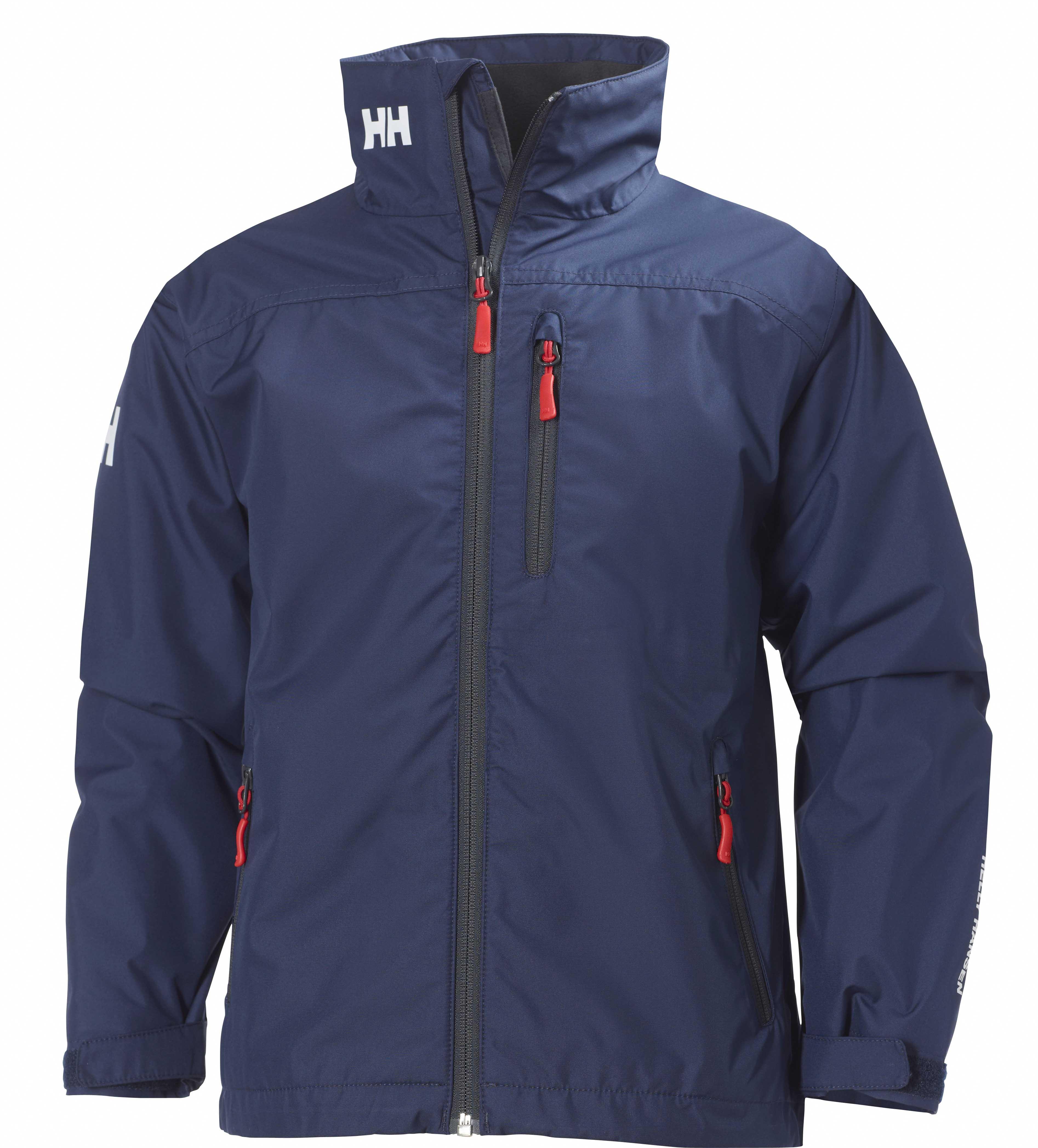 d003bf47 HH jr crew midlayer jakke-blå - Familiebutikken.no