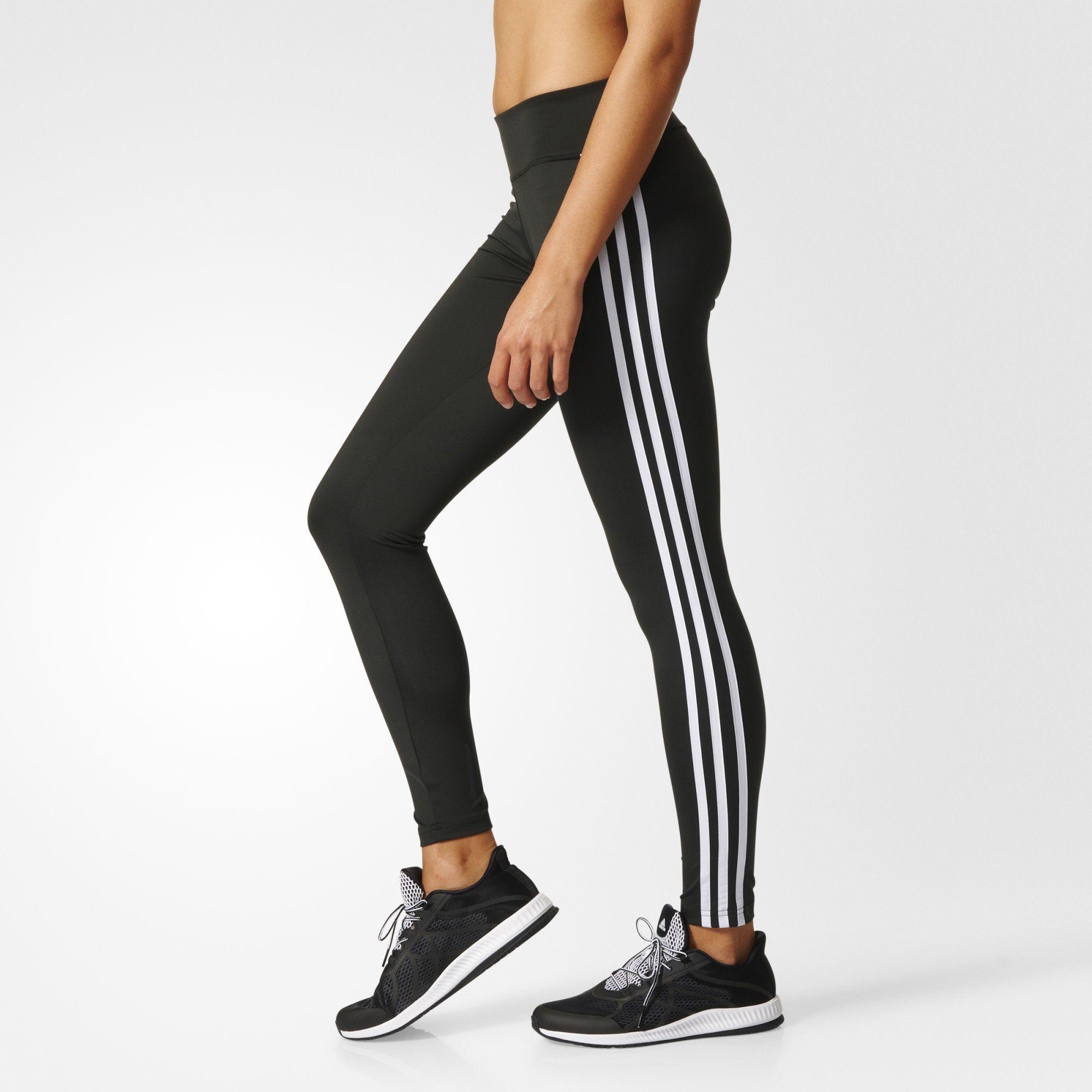 a883baab2 adidas, Adidas tights, tights, 3 stripes, striper, treningstights ...