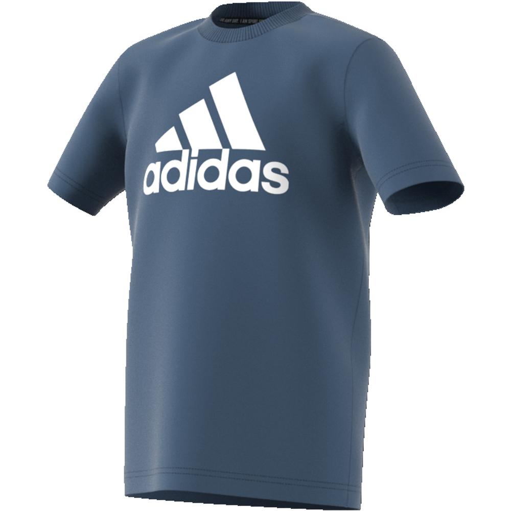 Grå Adidas YB Logo Pant Familiebutikken.no