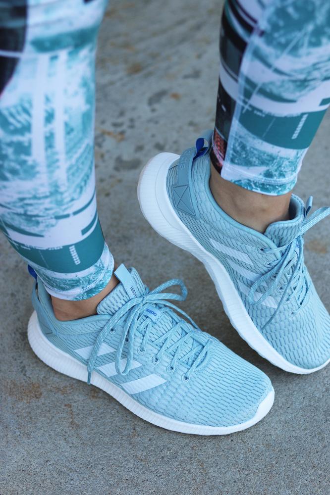 Blå Adidas Racer Lys Lite Sko no Climacoo Familiebutikken