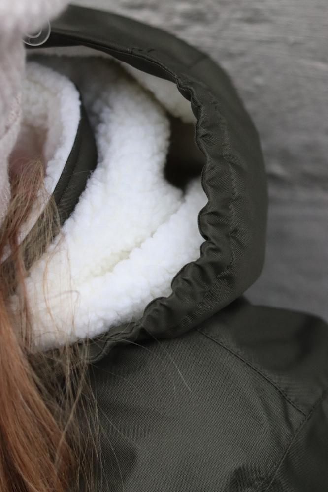 Mørk Grønn Hummel Lise Coat Vinterjakke Familiebutikken.no