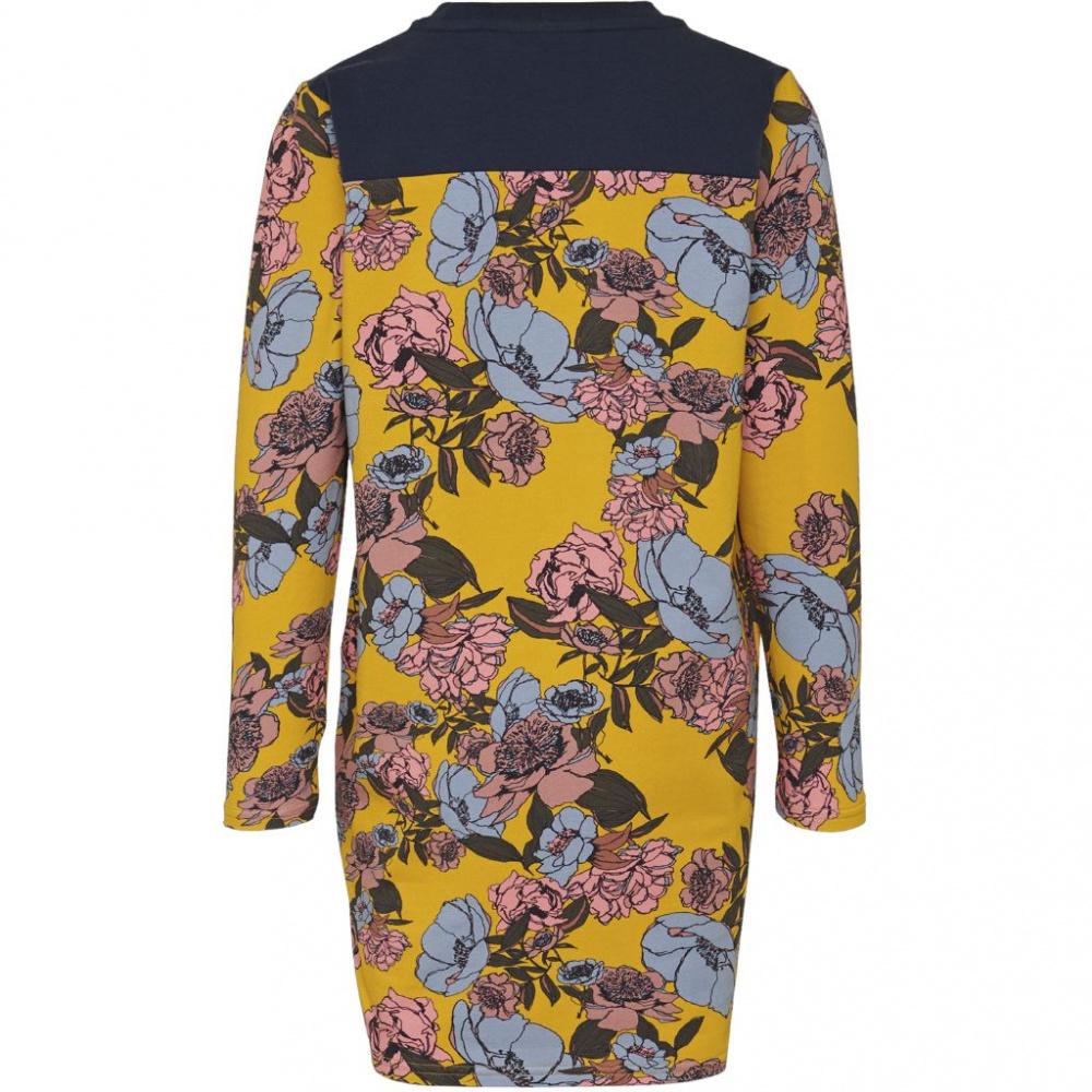 b6e2f53ce Gul Hummel Numa Dress L/S Kjole - Familiebutikken.no