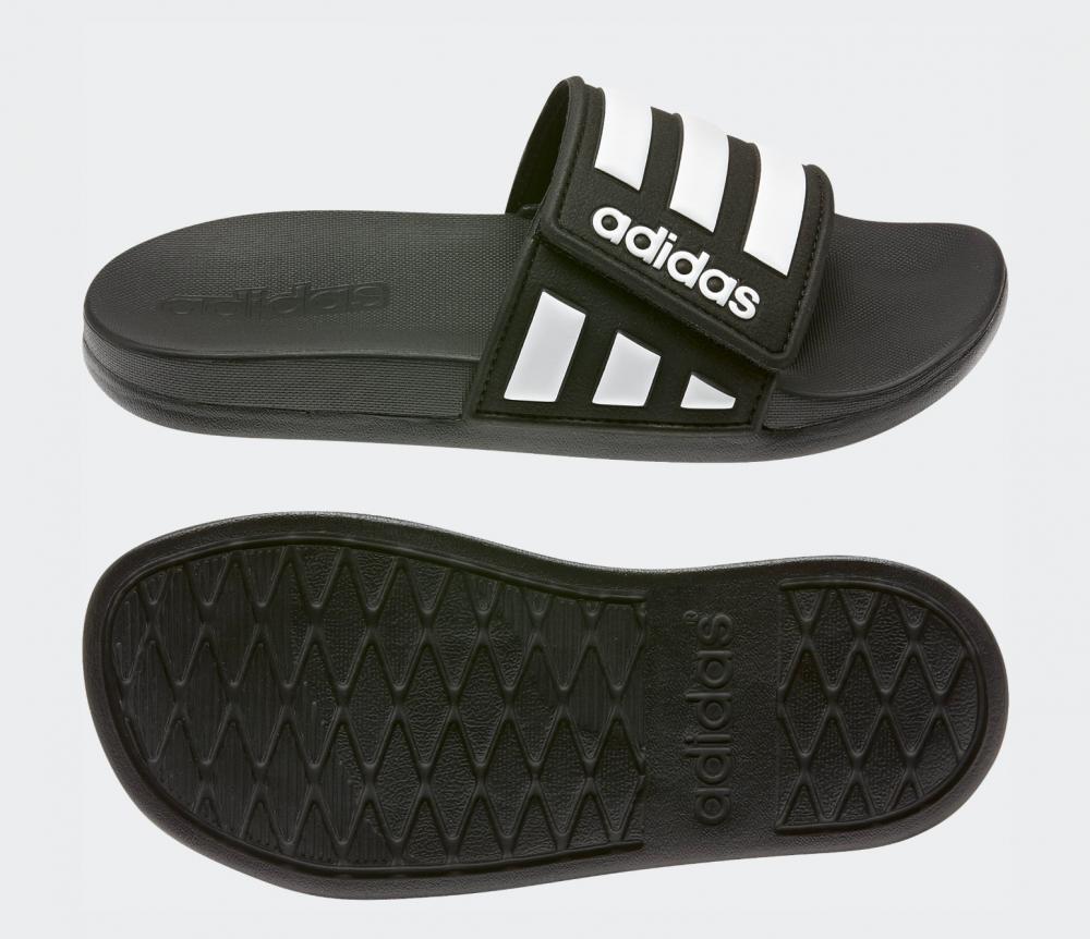 Sort Adidas Adilette Comfort Ad Slippers Familiebutikken.no