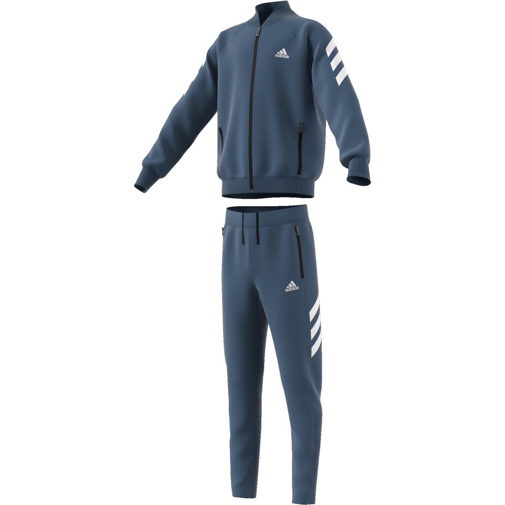 36f1b3169 Blå/Hvit Adidas YB XFG TS Joggedress - Familiebutikken.no