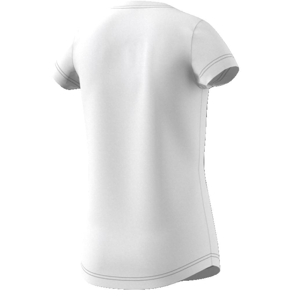 Hvit Adidas YG MH Bos T skjorte Familiebutikken.no