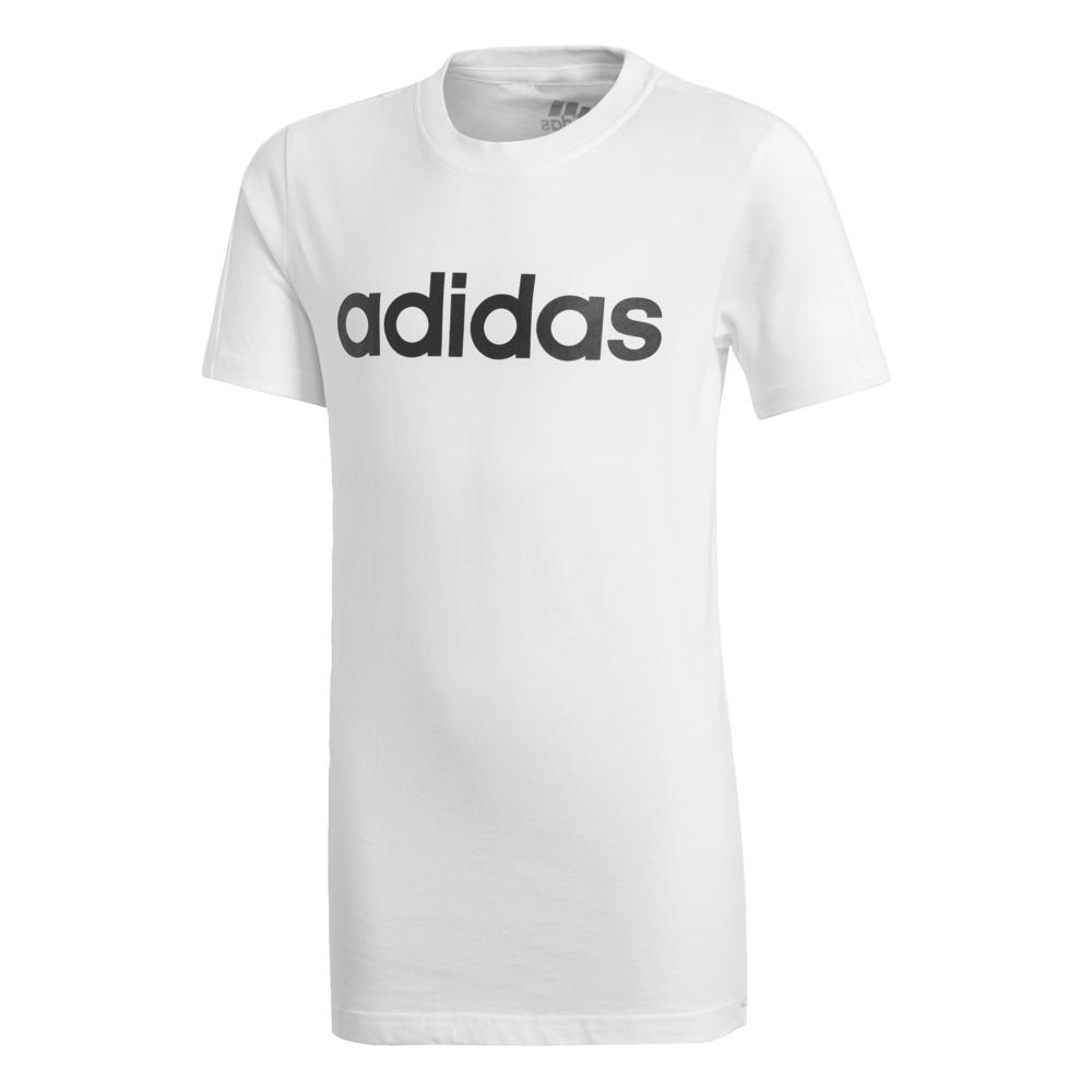 Hvit Adidas YB Lin Tee Familiebutikken.no