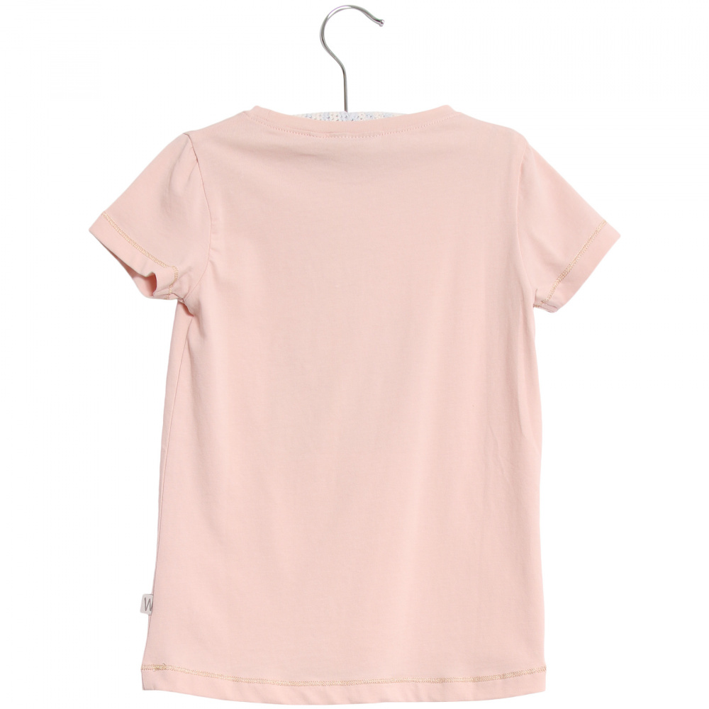 Rosa Wheat T shirt Horse T skjorte Familiebutikken.no