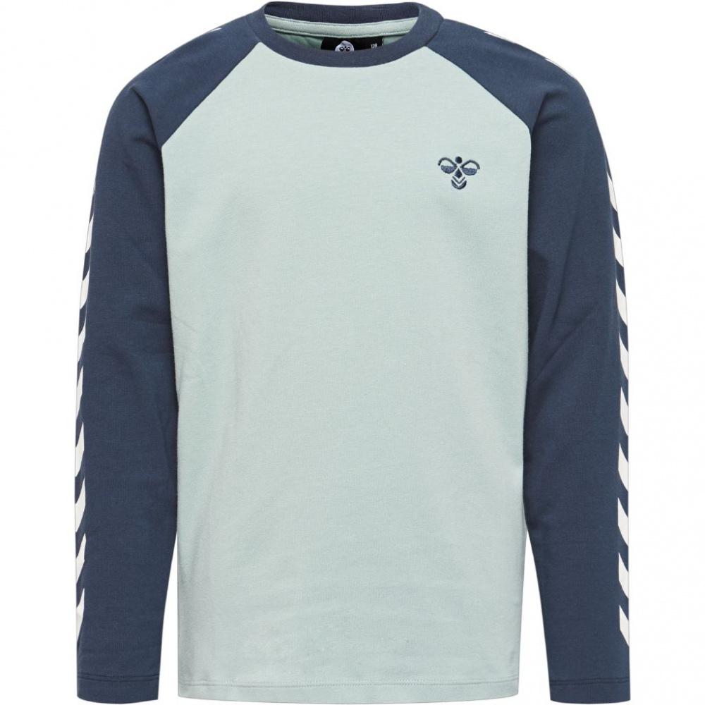 c7fc6892 Blå Hummel Boys LS T-shirt Genser - Familiebutikken.no