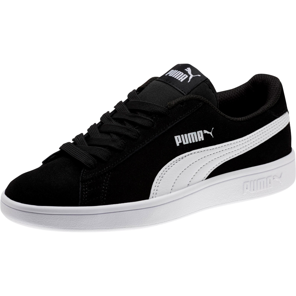 Sort Puma Smash V2 SD JR Sko Familiebutikken.no