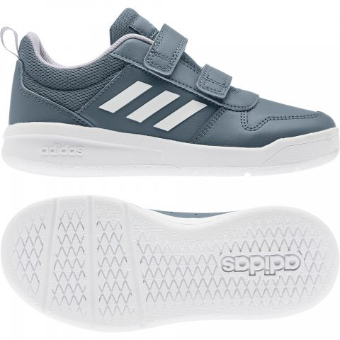 HvitBlå Adidas Tenasaur K Sko Familiebutikken.no