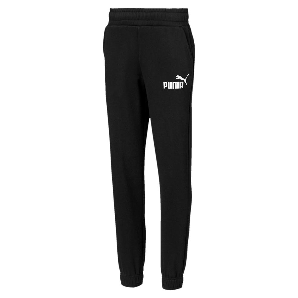 d73851a85 Sort Puma Essentials Logo Sweat Pants FL CL Joggebukse ...