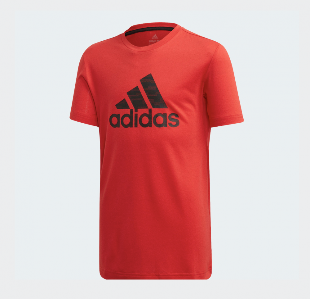 Rød Adidas JB TR Prime Tee T skjorte Familiebutikken.no