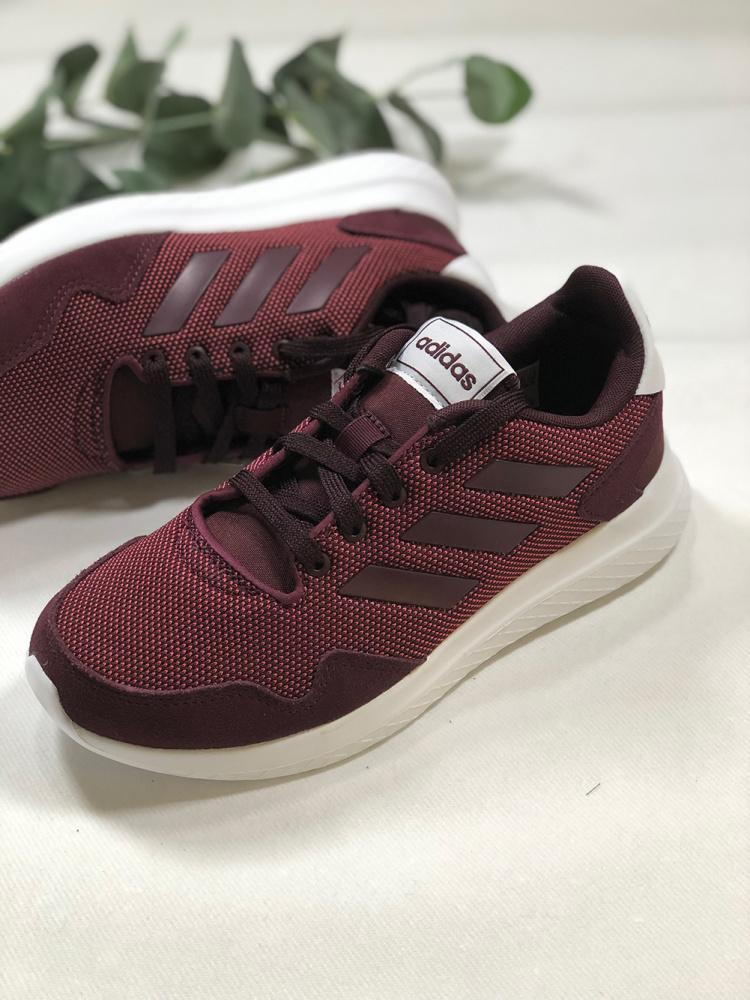 Burgunder Adidas Archivo Sko Familiebutikken.no