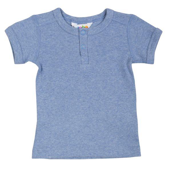 Blå Joha T skjorte Familiebutikken.no