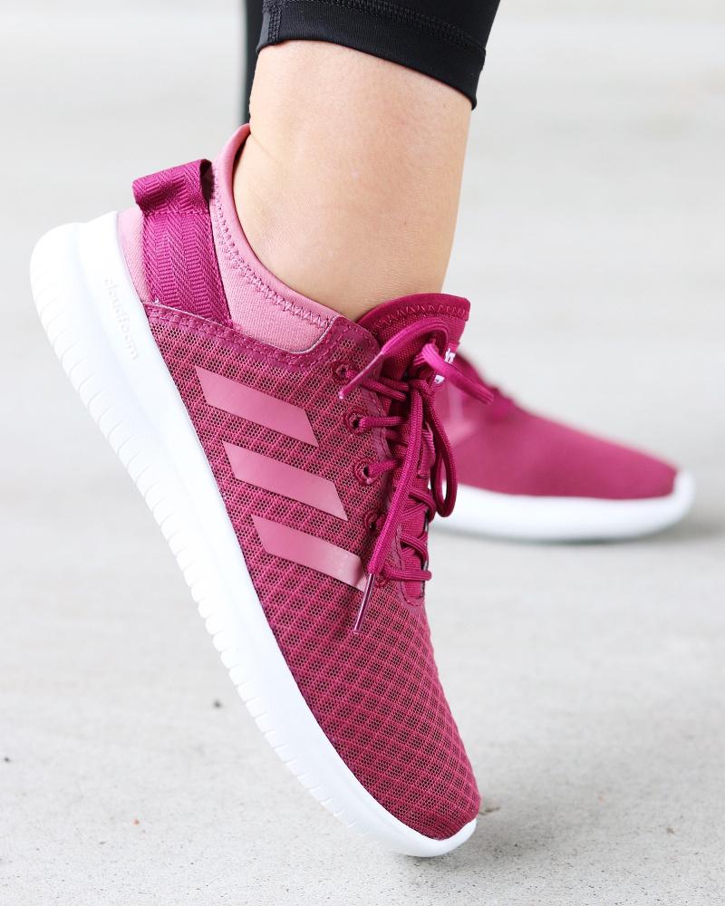 Adidas Cloudfoam QT Flex Grå Familiebutikken.no