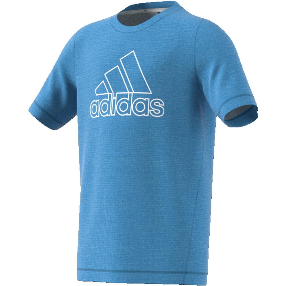 Blå Adidas YB TR Chill Tee Tskjorte Familiebutikken.no