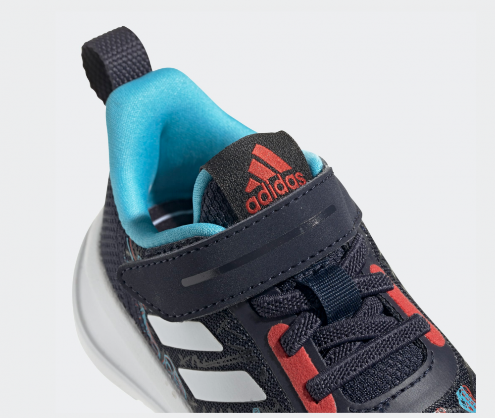 Mørk Blå Adidas Fortarun X I Spiderman Sko Familiebutikken.no