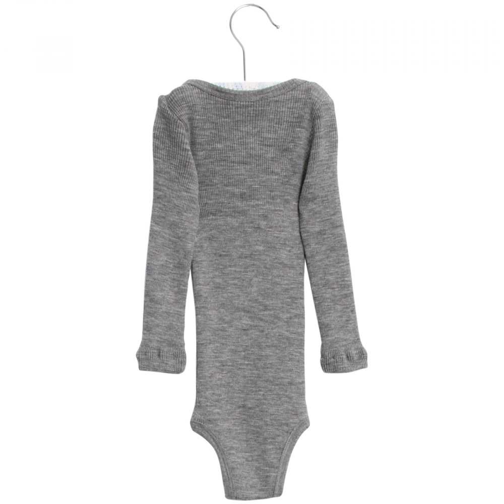Joha Body Wool LS Grey Melange