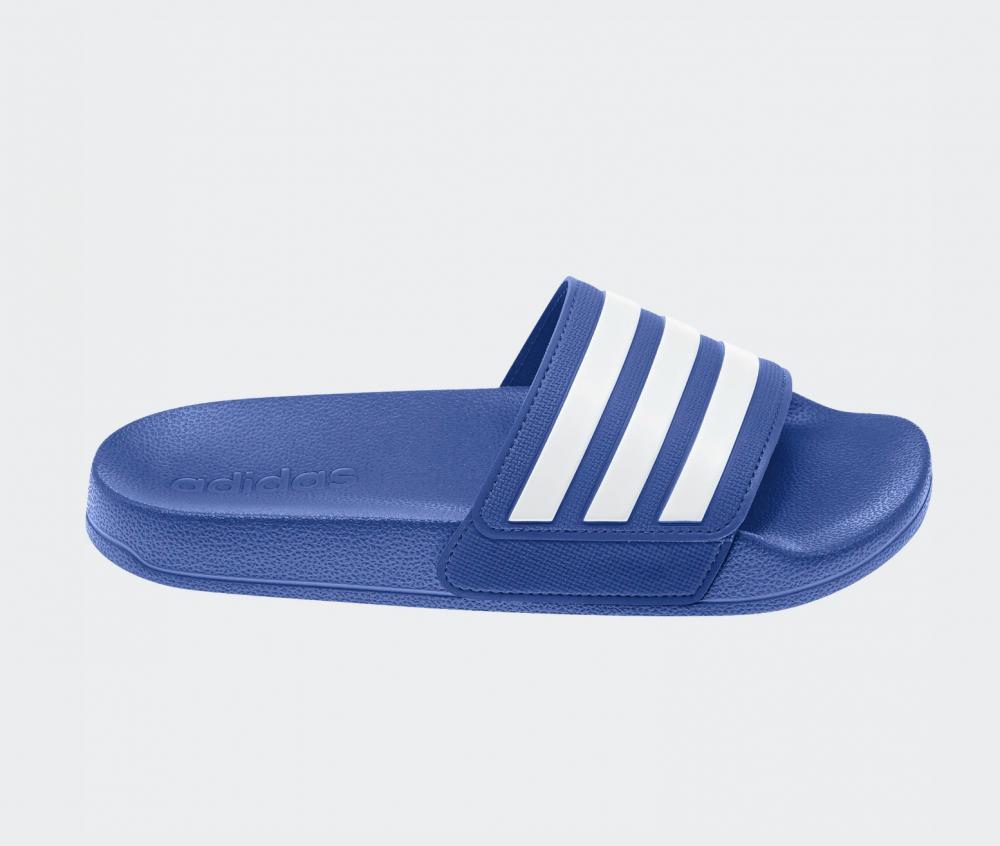 Blå Adidas Adilette Shower Slippers Familiebutikken.no
