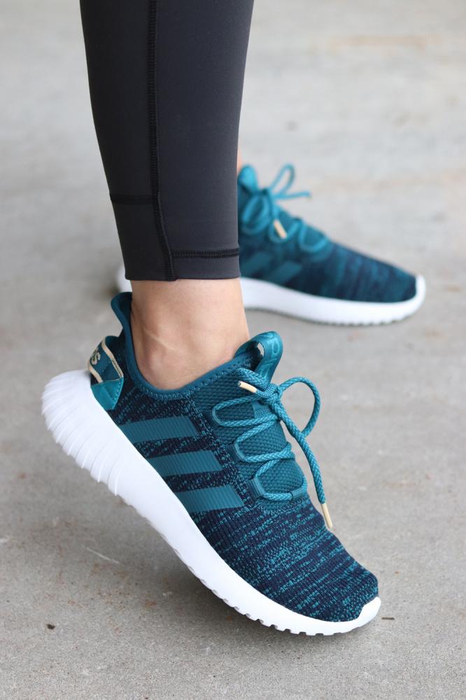 GråBlå Adidas Edgebounce W Sko Familiebutikken.no